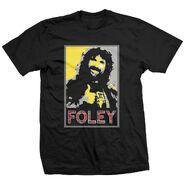 Mick Foley Foley Poster T-Shirt