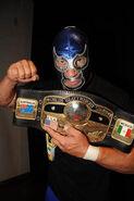Blue Demon Jr. NWA Champion