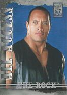 2002 WWF All Access (Fleer) The Rock 16