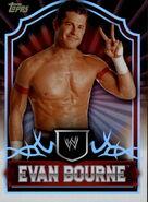2011 Topps WWE Classic Wrestling Evan Bourne 21