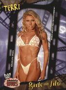 2002 WWE Absolute Divas (Fleer) Terri 96