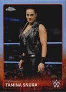 2015 Chrome WWE Wrestling Cards (Topps) Tamina Snuka 69