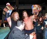 Awesome Raven ECW World Tag