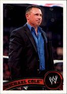 2011 WWE (Topps) Michael Cole 31