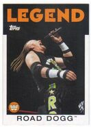 2016 WWE Heritage Wrestling Cards (Topps) Road Dogg 98