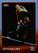2015 Chrome WWE Wrestling Cards (Topps) Seth Rollins 63