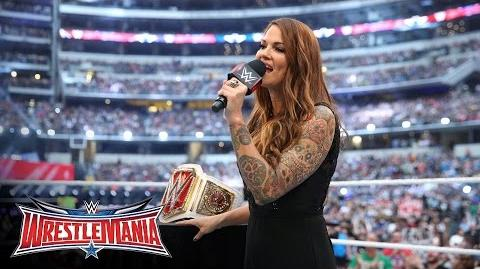 A new WWE Women's Title is revealed WrestleMania 32 Kickoff