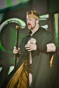 King Sheamus Tribute to the Troops 2010