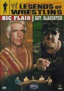 WWE Legends of Wrestling Ric Flair & Sgt Slaughter (DVD)