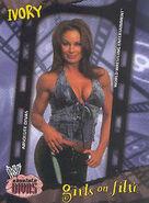 2002 WWE Absolute Divas (Fleer) Ivory 85