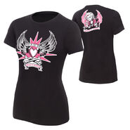 Natalya Queen of Harts womens T-Shirt