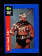1991 WWF Classic Superstars Cards Barbarian 122