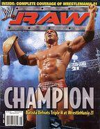 Raw Magazine May 2005