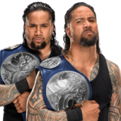 The Usos WWE Smackdown Tag Team Championship