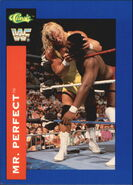 1991 WWF Classic Superstars Cards Mr. Perfect 107