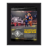 The VaudeVillains NXT TakeOver Brooklyn 10.5 x 13 Photo Collage Plaque