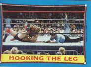 1987 WWF Wrestling Cards (Topps) Hooking The Leg 48