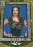 2002 WWF All Access (Fleer) Nidia 95