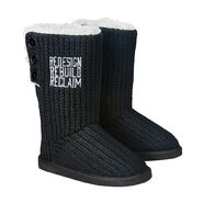 Seth Rollins Redesign, Rebuild, Reclaim Women's Button Boots