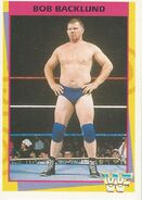 1995 WWF Wrestling Trading Cards (Merlin) Bob Backlund 109