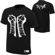 CM Punk Fists Authentic T-Shirt