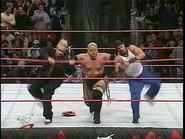 Royal Rumble 2000 Rikishi eliminates Too Cool