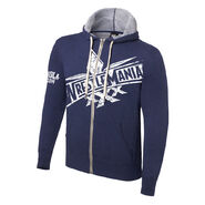 WrestleMania 30 Lightweight Full-Zip Hoodie Sweatshirt