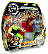 Adrenaline Series 6 Action Figure 2-Pack The Hurricane & Rosey
