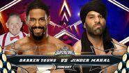 Darren Young vs Jinder Mahal