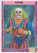 1995 WWF Wrestling Trading Cards (Merlin) Doink 36