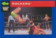 1991 WWF Classic Superstars Cards Rockers 78