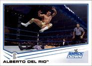 2013 WWE (Topps) Alberto Del Rio 45
