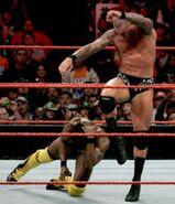 Kofi vs Orton TLC1