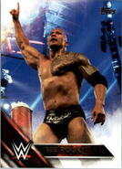 2016 WWE (Topps) Then, Now, Forever The Rock 137
