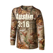 Stone Cold Steve Austin REALTREE Camo Long Sleeve Shirt
