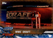 2017 WWE Road to WrestleMania Trading Cards (Topps) WWE Draft 97