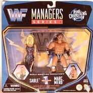Sable & Marc Mero ((WWF Managers 1)