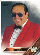 2016 WWE (Topps) Then, Now, Forever Gorilla Monsoon 167