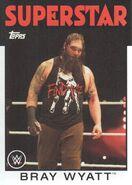 2016 WWE Heritage Wrestling Cards (Topps) Bray Wyatt 6