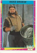 1995 WWF Wrestling Trading Cards (Merlin) Duke Droese 16