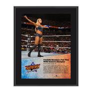 Charlotte SummerSlam 2016 10 x 13 Photo Plaque