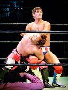 Sabre wrestling hold