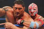 Batista & Rey Mysterio