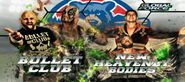 GFW Grand Slam Tour 2015 Day2 Tag Team Match (Bullet Club vs New Heavenly Bodies)