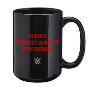 Kane World's Greatest Director of Operations 15 oz. Mug