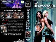 Survivor Series 2001 DVD