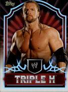 2011 Topps WWE Classic Wrestling Triple H 68