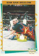 1995 WWF Wrestling Trading Cards (Merlin) Bam Bam Bigelow 69
