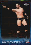 2015 Chrome WWE Wrestling Cards (Topps) Bad News Barrett 4