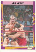 1995 WWF Wrestling Trading Cards (Merlin) Lex Luger 179